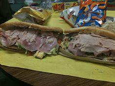 Thanksgiving Monster Sandwich style!
