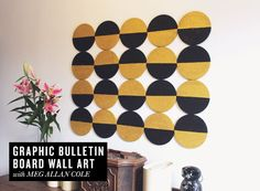 DIY Graphic Bulletin Board | Rue
