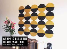 DIY Graphic Bulletin Board | Rue