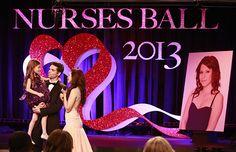 GH Patrick with his and Robin's daughter Emma and Sabina honnor Robin at the 2013 Nurses Ball. We Love Soaps: GENERAL HOSPITAL Nurses Ball Photos [SPOILER ALERT]