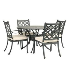portico 7 piece outdoor dining set collections