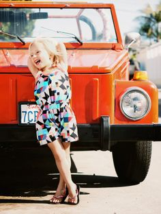 CailaMade Romper in the 2nd issue of STYLO magazine!! Isn't she adorable!?