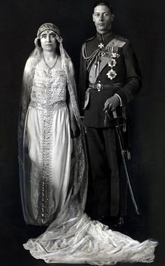 Prince Albert, Later King George and Lady Elizabeth Bowes-Lyon