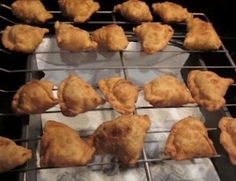 Samosas...as Indian as you can get.