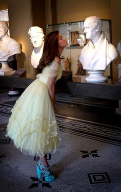 The Londoner: Ball Gowns at The V - why can't i be invited to dinner dances in museums?