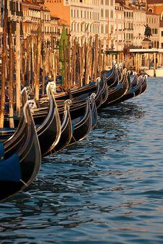 Gondola Texture, Venice