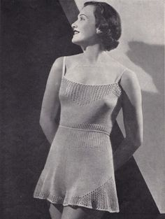 Free Vintage Knitting Pattern of the Day Warm Wool Next to Nothings Pattern