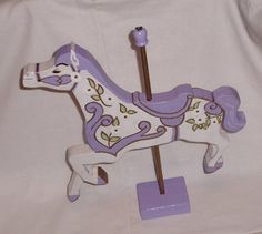 Mary Poppins Carousel Horse Decor Hand Cut by DebLeeCreations, $45.00