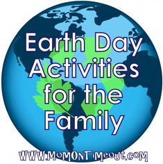 Fun Earth Day Activities the whole family will enjoy! | Mom On Timeout