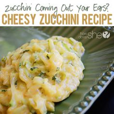 Zucchini coming out your ears? We have the solution for you!