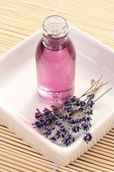 How to make lavender oil. Prevents scars, antibacterial, and good for congestion.