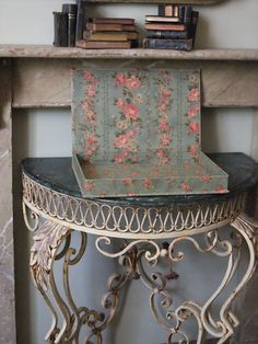 French fabric covered box
