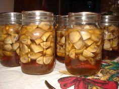 Canning Mushrooms