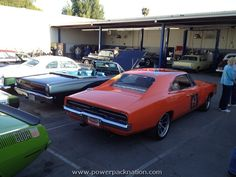 Kenny Wayne Shepard's General Lee at the Picture Car Warehouse