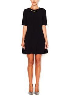 Short Sleeve Drop Waist Dress from Marabelle on Gilt