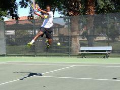 Love the flyin' frenchman Gael Monfils.  photo credit: @SportsStylist  #tennis