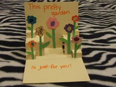Mothers Day Cards for Kids, 2 pop-up cards for children to make. | Wayward Girls Crafts