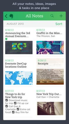 [Free] Evernote at https://itunes.apple.com/us/app/evernote/id281796108  Organize notes, screenshots, articles found online-- everything!-- and get access to it from anywhere.