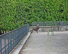 Old man at the Jardins de Tuileries, Paris. $100.00, via Etsy.