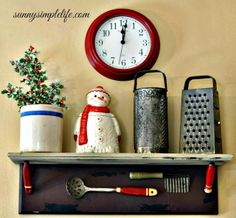 Sunny Simple Life: Christmas Kitchen