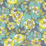Josephine Kimberling Caravan Dreams Climbing Vines Grey [BF-114-105-04-2] - $10.45 : Pink Chalk Fabrics is your online source for modern quilting cottons and sewing patterns., Cloth, Pattern + Tool for Modern Sewists