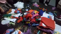 Jane Munday on Twitter: @MicroCritters Felt explosion making parasites & bacteria last night at #SU2014 @NHM_London