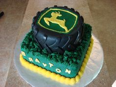 tire cake, idea, john deer birthday cakes, birthday cake for kids, birthdays, boy birthday cakes, john deere birthday cakes, smash cake, chocolate cakes