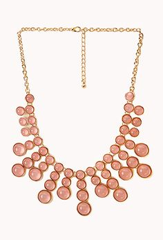 Bold Bauble Bib Necklace | FOREVER21 - 1000129427