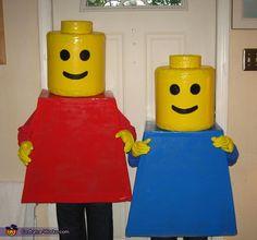 Lego Mini Figures - Halloween Costume Contest via @costumeworks