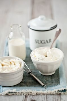 homemade whipped cream.