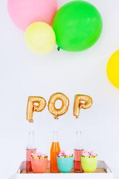 POP! baby shower ideas