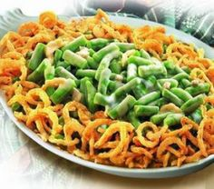 What is Christmas dinner without the green bean casserole? Here is a recipe