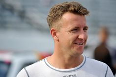 AJ Allmendinger talks about making his first start in the Indy 500 this weekend. (Rainier Ehrhardt/Getty Images for NASCAR)