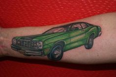 mopar tattoo, car tattoo