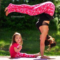 #yoga- @ laurasykora via instagram
