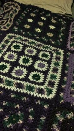 My favorite crocheted afghan