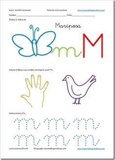 Lectoescritura letra m_1
