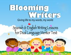 Mini writing lessons for the six traits in Spanish and English.