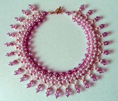 Free pattern for necklace Caramella - 1