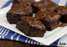Sweet Potato Brownies made with coconut flour