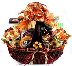 Harvest gift basket