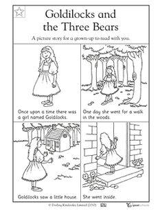 Goldilocks and the Three Bears - Worksheets & Activities