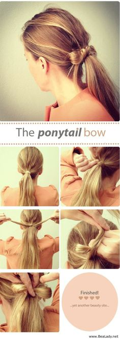Cute And Easy Ponytails - BeaLady.net