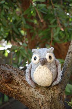 knit {idea} owl...