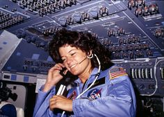 R.I.P. Sally Ride :  the first American woman in space
