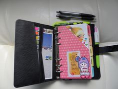 pocket pages as dividers