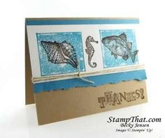 Stampin Up! By the Tide stamp set