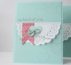 Stampin' Up! So Kind of You card