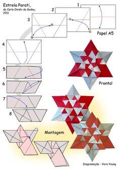 Origami Modular Parati Star