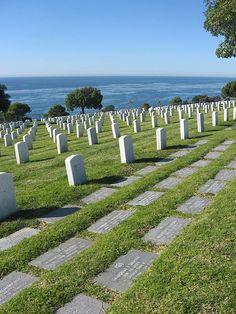 20 Cemeteries   Fort Rosecrans National Cemetery, San Diego, California